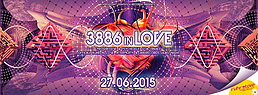 Party flyer: 3886 in Love 27 Jun 15, 22:00h