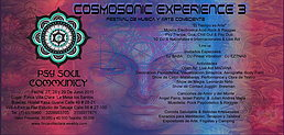 Party flyer: Cosmosonic experience 27 Jun 15, 15:00h