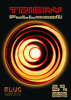 Party flyer: TRICKY! FULLMOON 2 Jul 15, 23:00h