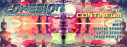 Party flyer: Cohesion Psychedelic Trance Party 4. Jul 15, 23:00h