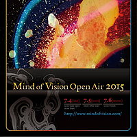 Party flyer: Mind of Vision Open air 2015 4. Jul 15, 12:00h