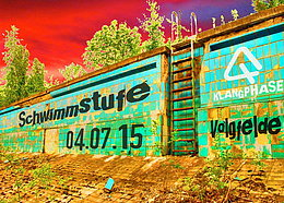 Party flyer: SCHWIMMSTUFE 4. Jul 15, 20:00h