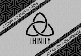 Party flyer: TR!N!TY [Pilot Birthday Edition] 4. Jul 15, 21:00h
