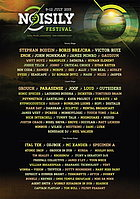 Party flyer: Noisily Festival 9. Jul 15, 15:00h