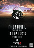 Party flyer: Phonophil Vol. VI 10. Jul 15, 23:00h