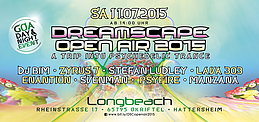 Party flyer: Dreamscape openair 2015 11. Jul 15, 14:00h