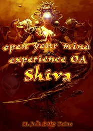 Party flyer: open your mind experience - OA  Shiva 11. Jul 15, 13:00h