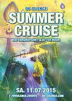 Party flyer: Summer Cruise - Bootsparty + Afterhour 11. Jul 15, 14:30h