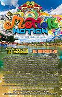 Party flyer: MOTION NOTION FESTIVAL 23 Jul 15, 12:00h