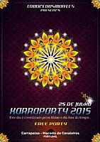 Party flyer: KARRAPARTY 25 Jul 15, 20:00h