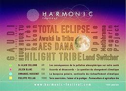 Party flyer: HARMONIC Festival 30 Jul 15, 14:30h