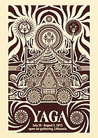 Party flyer: YAGA - Psychedelic Gathering 30 Jul 15, 12:00h