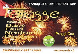 Party flyer: 1.August Party 31 Jul 15, 16:00h