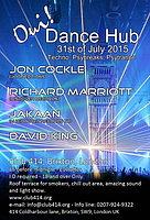 Party flyer: Oui Dance Hub 31 Jul 15, 23:00h