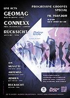 Party flyer: Progressive Grooves Special 31 Jul 15, 23:00h