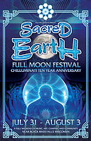 Party flyer: Sacred Earth : Full Moon Festial 31 Jul 15, 18:00h