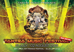 Party flyer: TANTRA MUSIC FESTIVAL - 48H OPEN AIR - 31 Jul 15, 18:00h