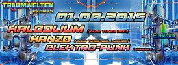 Party flyer: Eishaus Open Air ( u&d ) incl Aftershowparty Haldolium Live 1 Aug 15, 15:00h