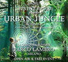 Party flyer: uRBaN JuNgLe Round 3 - OPEN AIR & FREE PARTY 1 Aug 15, 22:00h