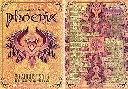 Party flyer: Phoenix Festival 2015 29 Aug 15, 12:00h