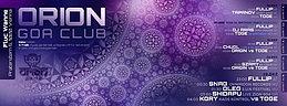 Party flyer: Orion Club @ Fluc Wanne 1 Dec 15, 23:00h