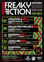 Party flyer: FREAKY FICTION 2 Dec 15, 23:00h
