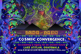 Party flyer: Cosmic Convergence 30 Dec '15, 10:00
