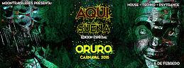 Party flyer: AQUI SUENA ORURO Carnaval 2016 5 Feb '16, 17:00h