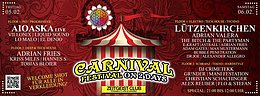 Party flyer: Carnival Festival (two days) 5 Feb '16, 21:00h