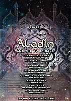Party flyer: Aladin and the 30 spirals 6 Feb '16, 21:00h