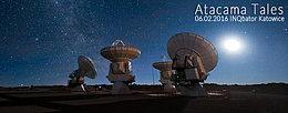 Party flyer: Atacama Tales 6. Feb 16, 22:00h