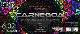 Party flyer: CARNEGOA IV 6 Feb '16, 22:00h
