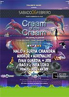 Party flyer: CREAM of the CREAM - PUNTA HERMOSA 6 Feb '16, 18:30h