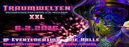 Party flyer: -:-DIE HALLE-:- HI-TECH / DARK / PROGRESSIVE / PSYCHEDELIC- EVENT 6. Feb 16, 22:00h
