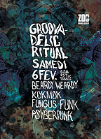 Party flyer: Groovadelic 6 Feb '16, 22:00h