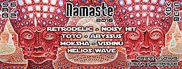 Party flyer: Namaste 6. Feb 16, 23:30h