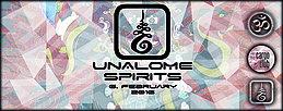 Party flyer: [ UNALOME SPIRITS ] 6. Feb 16, 23:00h