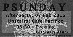 Party flyer: The ultimate fate of the Universe! AFTER PARTY 7 Feb '16, 08:30h