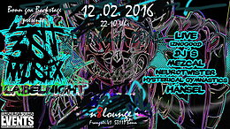 Party flyer: BONN GOA ►3st Musix Labelnight 12. Feb 16, 22:00h