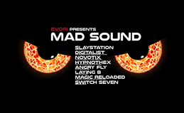 Party flyer: ॐ Evori presents MAD SOUND ॐ 12. Feb 16, 20:00h