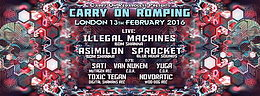 Party flyer: Carry on Romping II 13 Feb '16, 23:30h