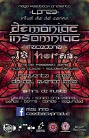 Party flyer: ॐLPN23: Ritual Dia del Cariño ॐDEMONIAC INSOMNIACॐ 13. Feb 16, 22:00h