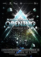 Party flyer: ☆NACHTSCHICHT LIPPSTADT☆ 13. Feb 16, 22:00h