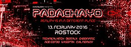 Party flyer: 『 Padachayo 』VII『 TECHNICAL HITCH ˑ DIGITALX ˑ CHROMATEC ˑ ACID COMBO』 13. Feb 16, 23:00h