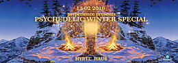 Party flyer: PSYPERIENCE pres. PSYCHEDELIC WINTER SPECIAL 13. Feb 16, 22:00h