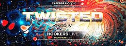 Party flyer: ♫ ♫ TWISTED -Onto Iv ♫ ♫ 13. Feb 16, 22:00h
