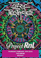 Party flyer: OZRIC TENTACLES + PROJECT RNL 18 Feb '16, 20:30h