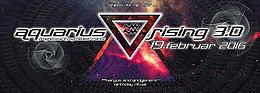 Party flyer: AQUARIUS RISING 3.0 andyjaner & karyus bday - talpa live uvm 19 Feb '16, 23:00h