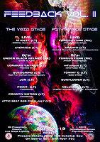 Party flyer: Feedback Vol. 2 19 Feb '16, 22:00h