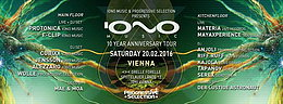 Party flyer: 10 Years Anniversary of IONO MUSIC - Vienna Edition 20 Feb '16, 22:00h
